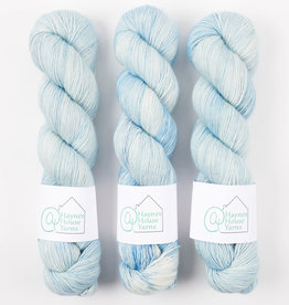 ​AT Haynes House Yarn RUSTIC FINGERING - THE GOOD ICE