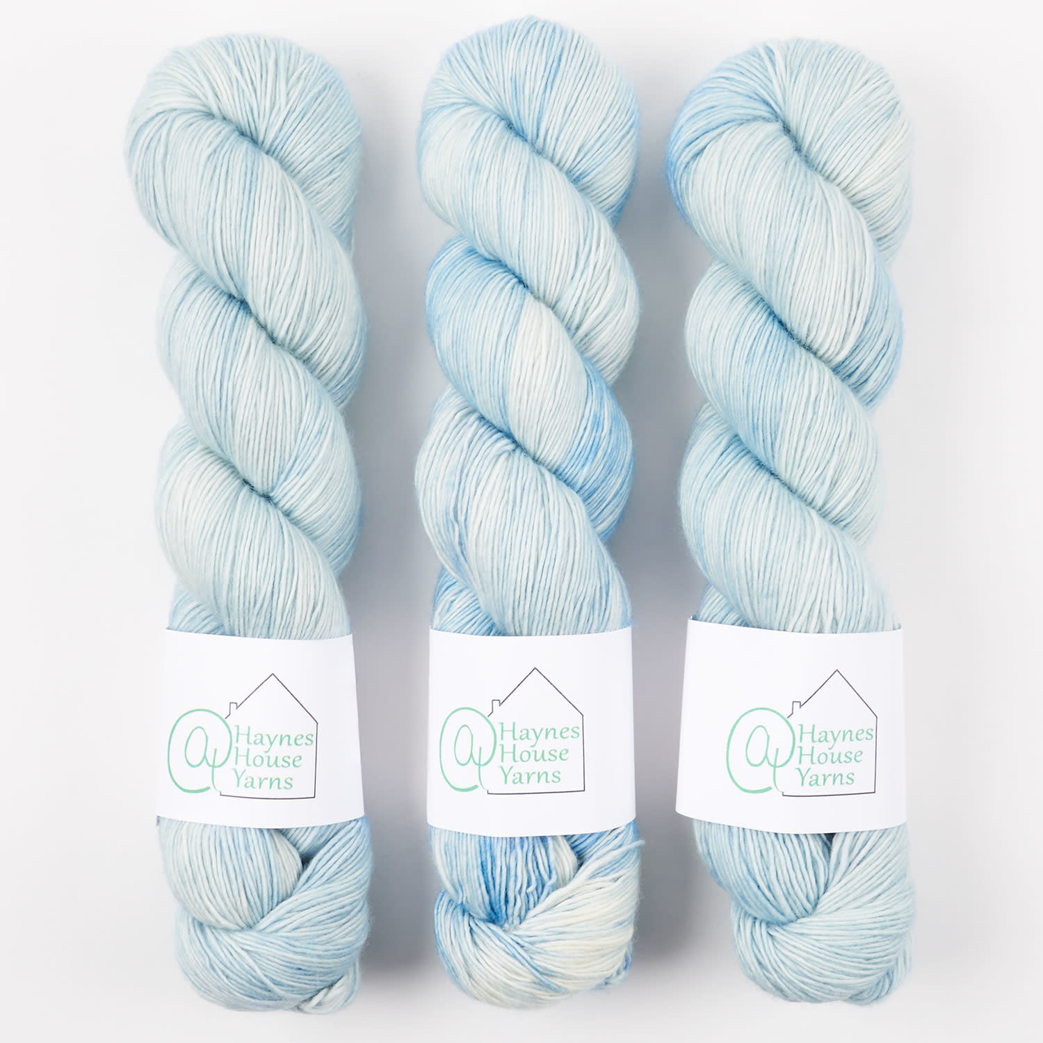 AT Haynes House Yarn RUSTIC FINGERING - THE GOOD ICE