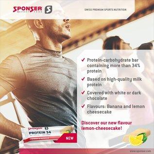 Protein bar 34 Lemon Cheescake