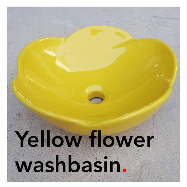 Bathroom Mania Spring Blossom   yellow