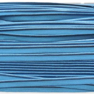 Elastische paspel - grijsblauw