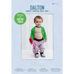 La Maison Victor - Dalton - patroon baby-& peuterbroekje