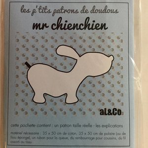 Al & co - Patroon knuffel - Hond