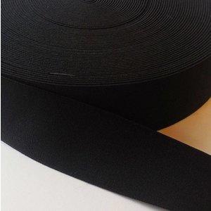 Zwarte elastiek (3,80 cm)