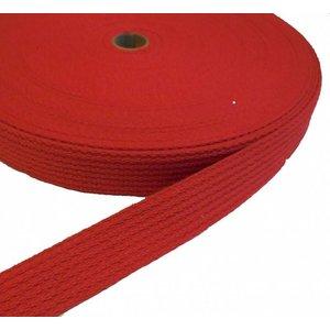 Tassenband rood 30 mm