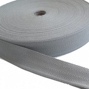 Keperband grijs