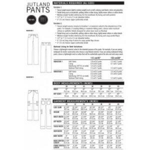 Thread Theory Jutland Pants - patroon