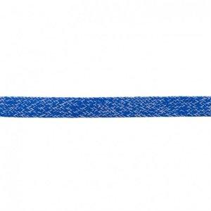 Platkoord mélange Kobaltblauw (20 mm)