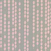 Cotton & Steel Katoen - Cotton & Steel - Melody Miller - Lantaarn grijs/fluoroos