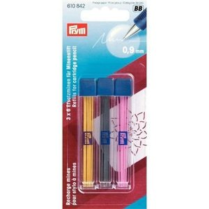 Prym - Vulpotlood - vullingen 3 kleuren