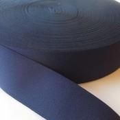 Elastische tailleband - donkerblauw (4 cm)