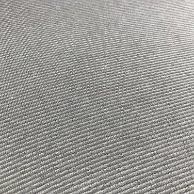 Boordstof - Streepjes Antraciet/grijs