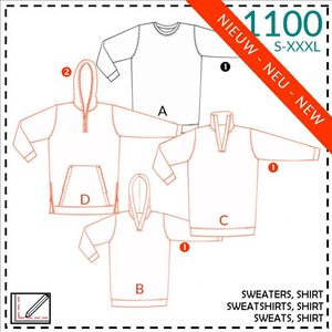 It's a fits - 1100 Sweater, Shirt voor mannen 1100 - patroon