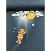 Tricotpaneel - In the clouds (45 cm hoog)