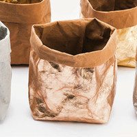 Washable paper met metallic coating - roosgoud