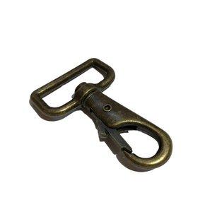 Musketonhaak 30 mm - brons