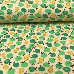 Megan Blue Fabrics - Tricot - Appelen en peren