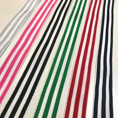 Ripslint - Roos-witte strepen
