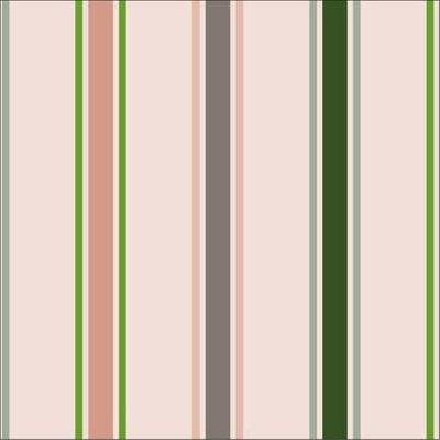 Katoen - About Blue Fabrics - Stripes Blanche