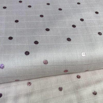 Katoen - Pink dots hot foil