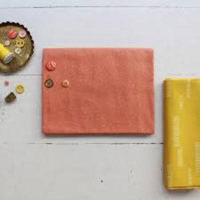 Atelier Brunette - Katoen Batist - Atelier Brunette - Sparkle Melba Gold
