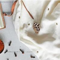 Stardust Off-white - Double Gauze - Atelier Brunette