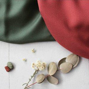 Atelier Brunette Crêpe Viscose - Atelier Brunette - Terracotta