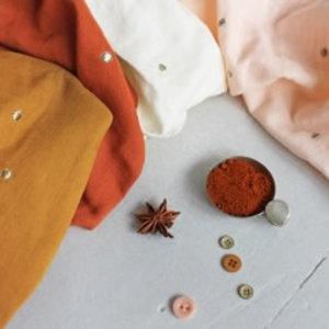 Atelier Brunette Double Gauze - Atelier Brunette - Stardust Ochre