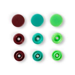 Prym Love - Color Snaps (ass bruin-groen)