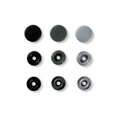 Prym - Love - Color Snaps (ass grijs/zwart)