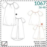 It's a fits - 1067 tuniek - patroon