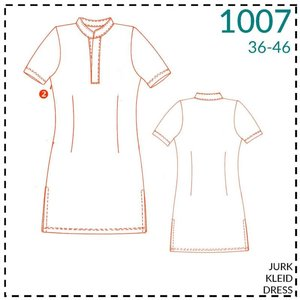 It's a fits - 1007  Jurk - patroon