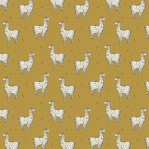 Biotricot - Bloome - Lucky Llama Golden Ochre