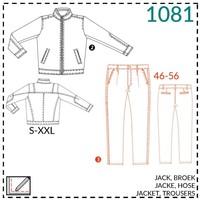It's a fits - Patroon Vest en broek voor mannen (It's a fits -1081)