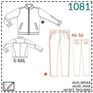 Patroon Vest en broek voor mannen (It's a fits -1081)