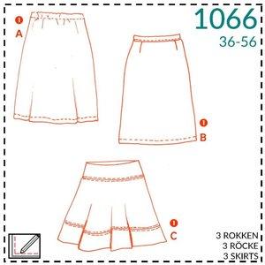Patroon rok 1066 - It's a fits