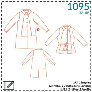 Patroon Damesmantel (It's a fits -1095)