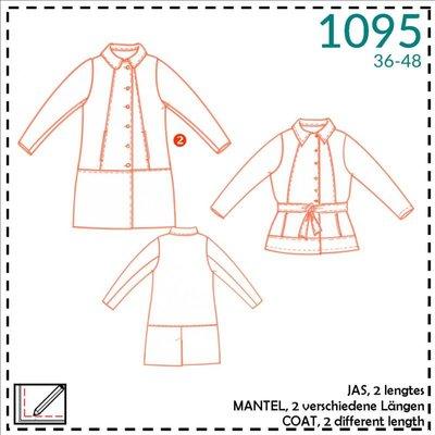 It's a fits - 1095 Patroon Damesmantel - It's a fits