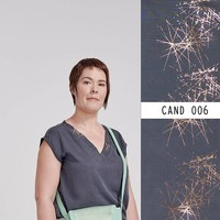 Eye Candy Tencel Allium Dusk Shiny - Lotte Martens