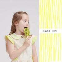 Eye Candy Tencel Zilt Cream - Lotte Martens