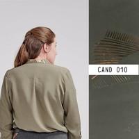 Eye Candy Tencel Carex Khaki - Lotte Martens