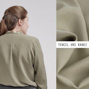 Khaki Tencel - Lotte Martens