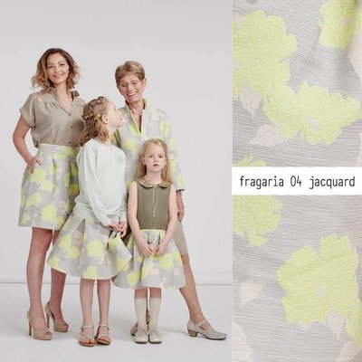 Lotte Martens Jacquard - Fragaria yellow