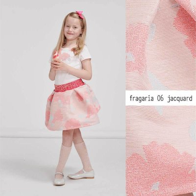 Lotte Martens Jacquard - Fragaria rose