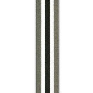 Strepen grijs-zwart-wit (3,5 cm) - Elastische tailleband