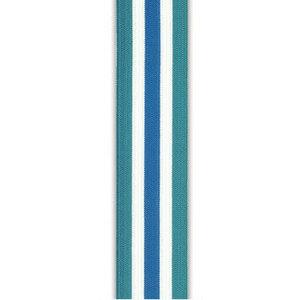 Strepen blauw-wit (3,5 cm) - Elastische tailleband