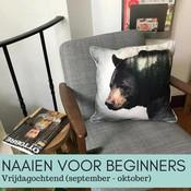 Naaien voor beginners - vrijdagochtend (sept-okt)
