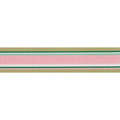Ripslint - gestreept - Roos - groen - mokka