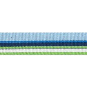 Ripslint - Blauw - groene strepen