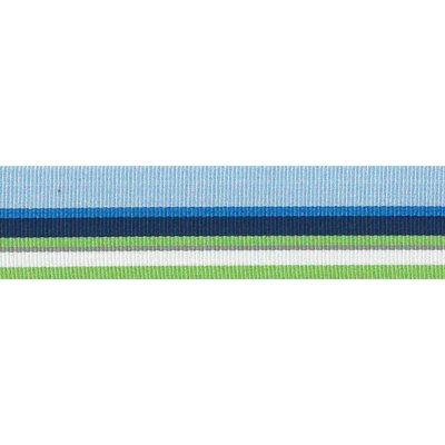 Ripslint - Gestreept - Blauw - groen